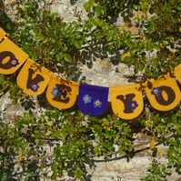 """""""LOVE YOU"""" BUNTING"""