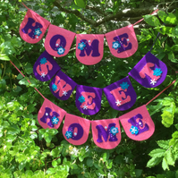 """""""HOME SWEET HOME"""" BUNTING"""