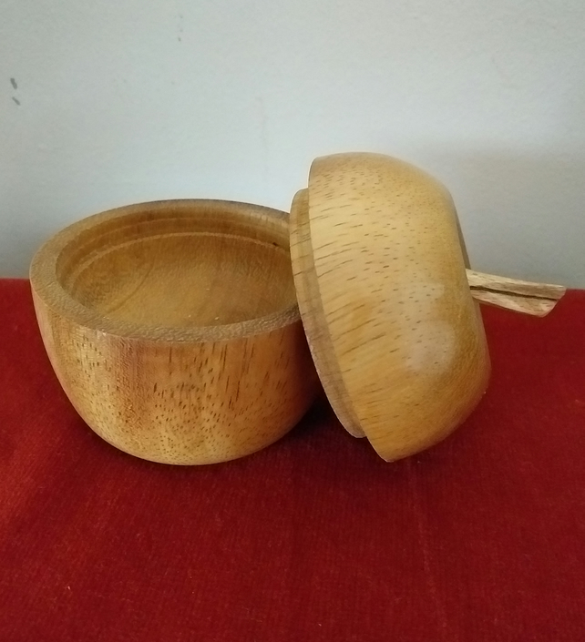 Woodturned Apple Box