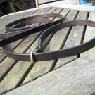 Leather Slip lead, hand made in top quality  English Bridle Leather