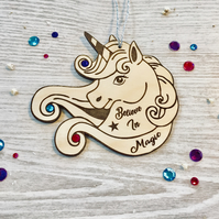 Unicorn, Wall Decoration, Believe In Magic, Follow Your Dreams, Dream Big