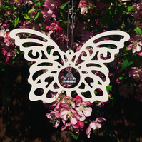 Suncatcher, Wooden Butterfly, Window Decoration, Mobile, Wall Hanging, Accents