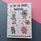 Worry Monster Notebook