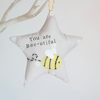Bumblebee Hanging Decoration, Valentine's Gift idea