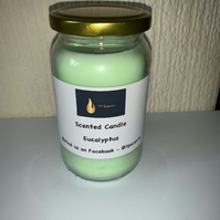 Eucalyptus Large Scented Candle