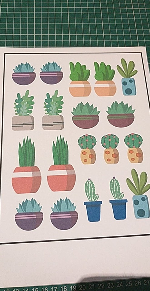 Cute Plant & Succulents Stickers