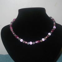 Purple Bridesmaids Necklace
