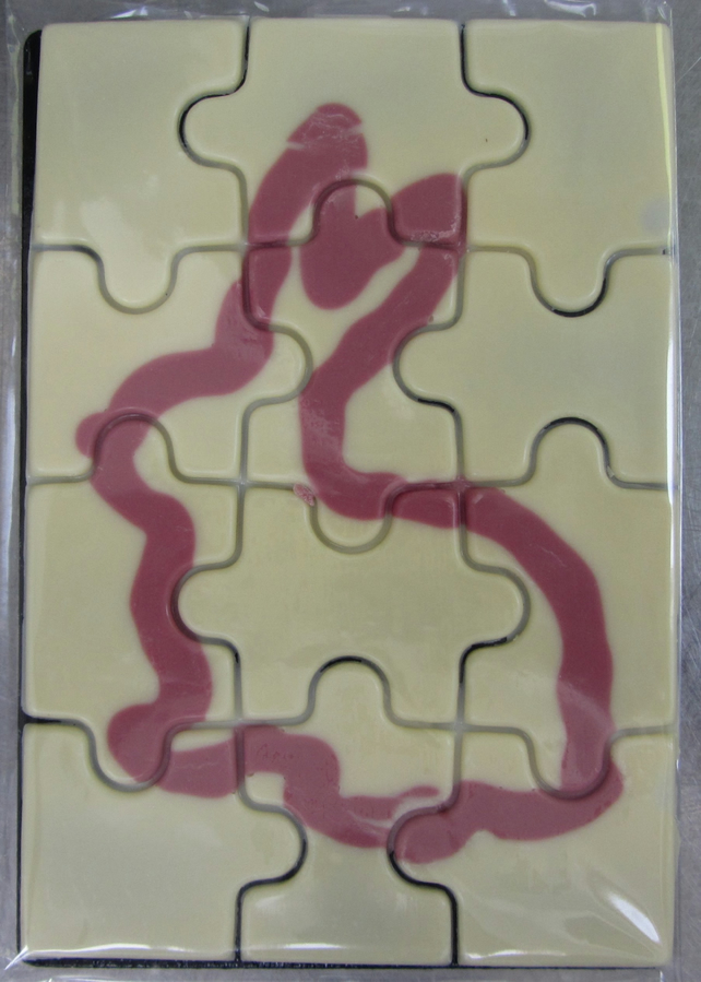 White Chocolate Jigsaw