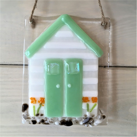 Beach hut - Green