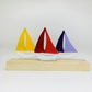 Fused Glass Boats - Customisable