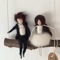 Stokla Doll Mr&Mrs Lovely couple, Wedding gift
