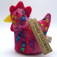 RESERVED Aurora - Chicken Paperweight