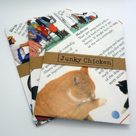 Upcycled Kids Encyclopedia Envelopes