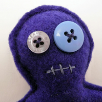 Voodoo Doll Pincushion - Mr Goggs