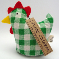 Gregory - Chicken Paperweight