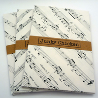 Upcycled Sheet Music Envelopes