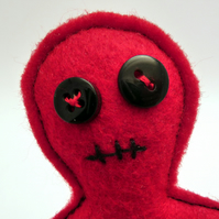 Voodoo Doll Pincushion - Mr Bumbles