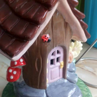Fairy House Tealight Holder