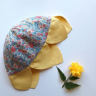 Daisy Sun Hat - Arley Gardens Liberty Fabric and Linen