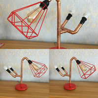 Copper Pipe Lamp ( Rocket Man )