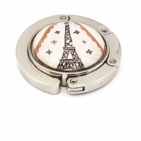 Eiffel Tower Bag Holder, Foldable Bag Hook, I love Paris
