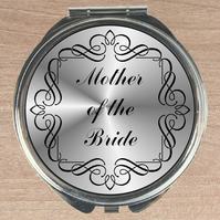 Compact mirror, Mother of bride gift