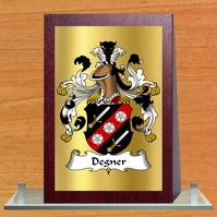 Coat of arms, Family crest, Wedge plaque.