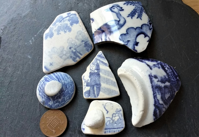 Blue & White Pottery Finds