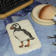 Puffin Washable & Reusable Eco Fabric Bird Face Wipe