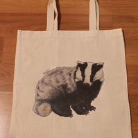 Badger Eco Reusable Shopping Tote Bag