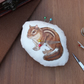 Chipmunk Welsh Tweed Magnetic Plush Pin Cushion