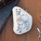 Alpaca Welsh Tweed Magnetic Plush Pin Cushion