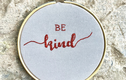 Inspirational embroidery hoops