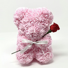 Rose bear 15cm with free personalisation