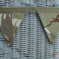 Camouflage Flag Bunting