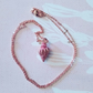 Rose Gold Conch Necklace