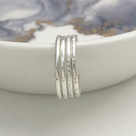 Dainty Toe Ring Sterling Silver