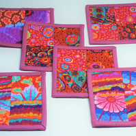 Patchwork Quilted Coasters