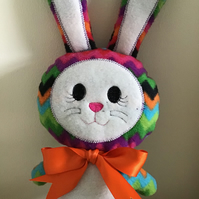 Rainbow Bunny soft toy