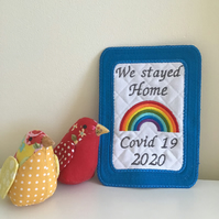 Large coaster or keepsake decoration.