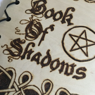 Book of Shadows, Handmade. Pyrography