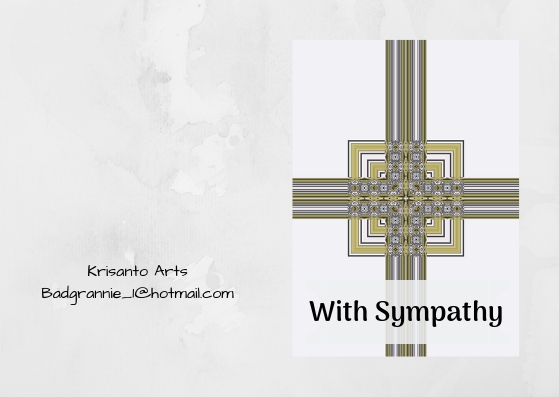 7 Downloadable Card Designs for Sympathy and Thank you Cards Various styles
