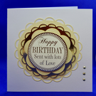 With love birthday card
