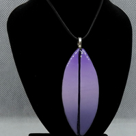 Artisan Purple graduated pendant