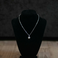 Silver Star Necklace - Stainless Steel or Sterling Silver