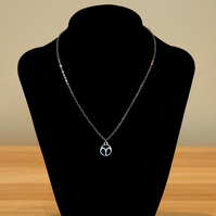 Astrology Zodiac Charm Necklace - Stainless Steel or Sterling Silver