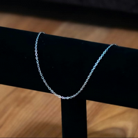 Silver Anklet - Stainless Steel or Sterling Silver