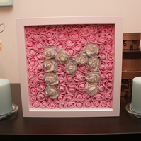 Decorative Flowers in a Frame