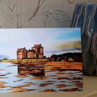Eilean Donan Castle Note or Greeting Card