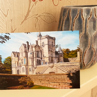 Kinnettles Castle, Blank Note or Greeting Card